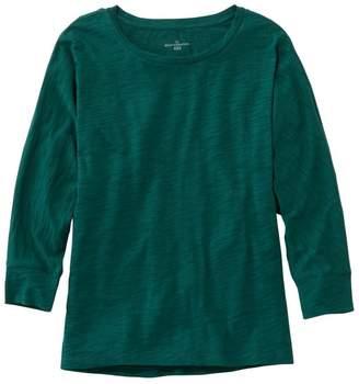 L.L. Bean L.L.Bean Women's Signature Essential Knit Tee, Dolman Sleeve
