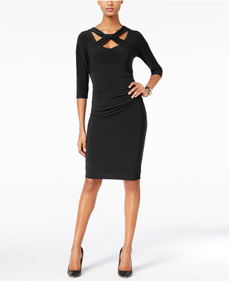 INC International Concepts Cutout Sheath Dress, Only at Macy's $99.50 thestylecure.com