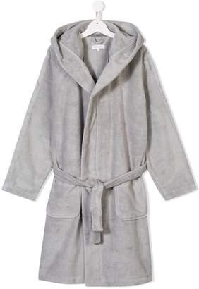 Calvin Klein Kids hooded bathrobe