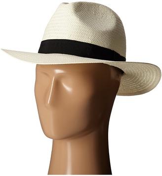 LAUREN Ralph Lauren - Paper Straw Classic Fedora Fedora Hats $48 thestylecure.com