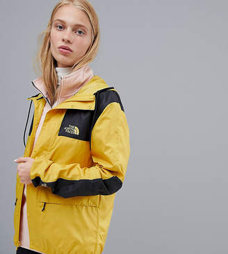The North Face Exclusive to ASOS Mountain Jacket 1985 Seasonal Celebration in Yellow
