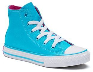 Girls' Converse Chuck Taylor All Star Fresh High Top Sneakers $40 thestylecure.com