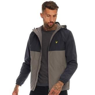 Vintage Mens Colour Block Jacket Dark Navy