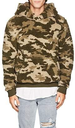 ATM Anthony Thomas Melillo Men's Camouflage Sherpa Hoodie