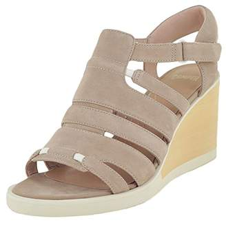 Camper Women's Limi ANK Strap and Strappy Wedge Sandal