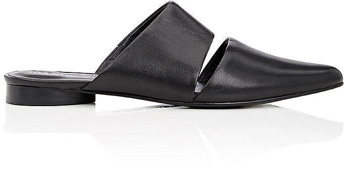 Opening CeremonyOpening Ceremony Women's Livre Cutout Leather Mules-Black