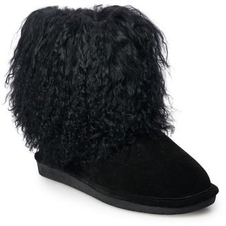 BearPaw Boo Women's Curly Lamb Boots