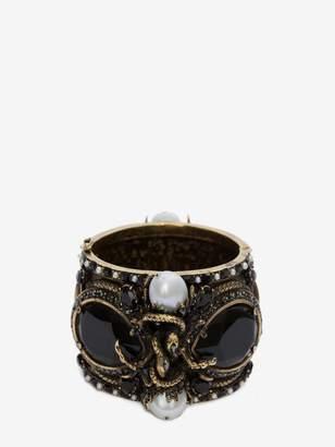 Alexander McQueen Jeweled Cuff