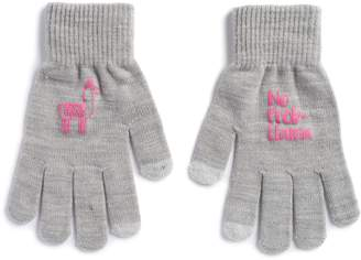 "So Women's SO Llama ""No Prob-Llama"" Tech Knit Gloves"