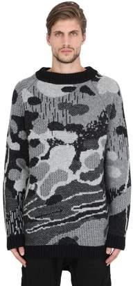 11 By Boris Bidjan Saberi Wool & Alpaca Blend Jacquard Sweater