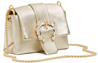 Tory Burch GREER METALLIC MINI BAG