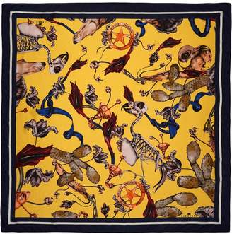 Klements - Large Square Scarf Freaks Print