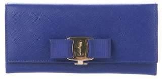 Salvatore Ferragamo Leather Miss Vara Wallet