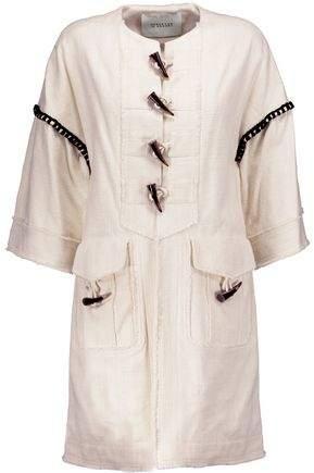 Frayed Cotton-Blend Jacket