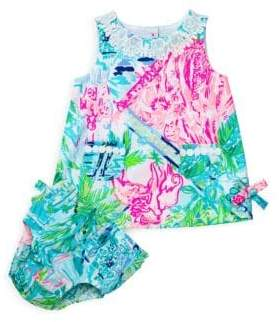 Lilly Pulitzer Baby Girl's Shift Dress& Bloomers Set