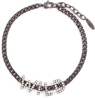 Swarovski Joomi Lim 'Wild' crystal chain choker