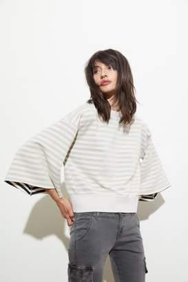 NSF Delia Striped Sweatshirt