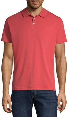 Claiborne Mens Short Sleeve Polo Shirt