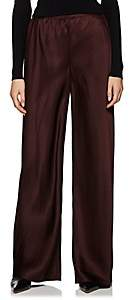 The Row Women's Gala Wide-Leg Trousers - Brown