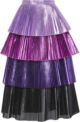 Ralph Lauren Delfi Collective Pleated Skirt