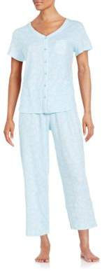 Karen Neuburger Plus Capri Pajama Set