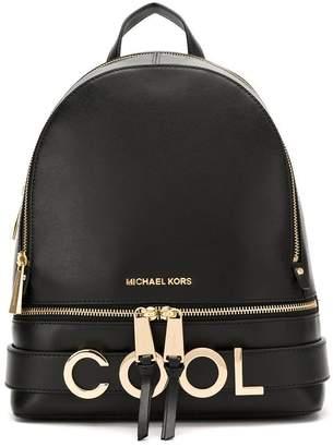 MICHAEL Michael Kors cool appliqué backpack