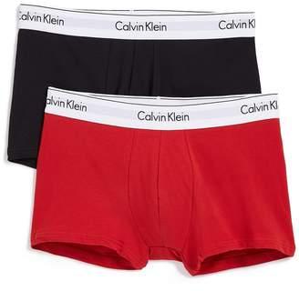 Calvin Klein Underwear 2 Pack Modern Cotton Stretch Trunks