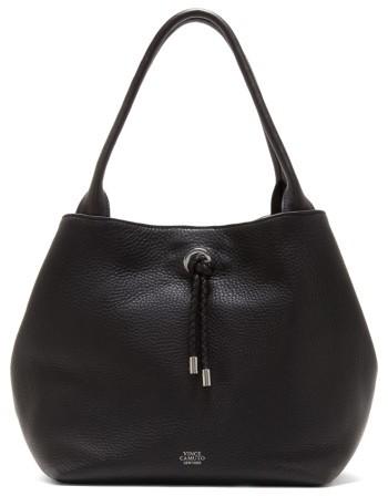 Vince Camuto Small Aviva Leather Tote - Black
