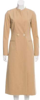 Maiyet Double-Breasted Long Coat