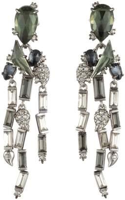 Alexis Bittar Winter Paisley Stone Cluster Earrings