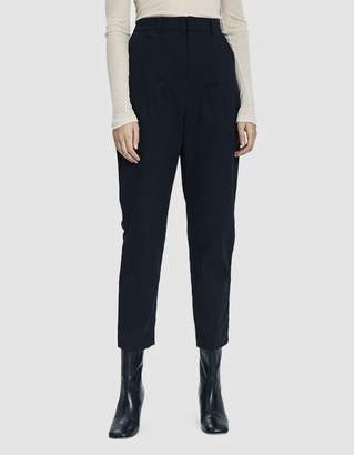 Stelen Indie High-Waisted Twill Pant in Midnight Navy