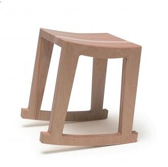 Pin It Context Furniture Narrative Rocker Stool