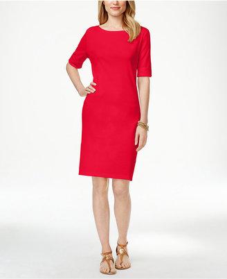 Karen Scott T-Shirt Dress, Only at Macy's $44.50 thestylecure.com