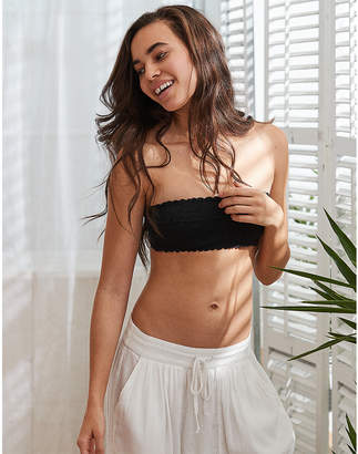 aerie Happy Unlined Bandeau Bra