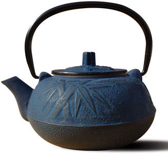 Old Dutch International Osaka Cast Iron Tea Pot, Blue