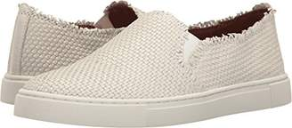 Frye Women's Ivy Fray Woven Slip Fashion Sneaker