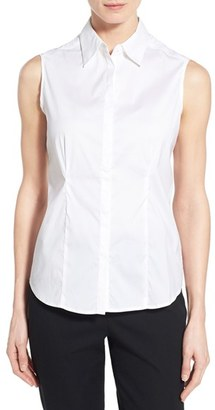 Women's Ming Wang Sleeveless Blouse $110 thestylecure.com