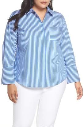Sejour Poplin Shirt (Plus Size)