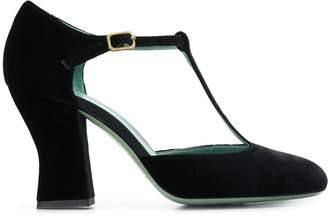 Paola D'arcano round-toe pumps