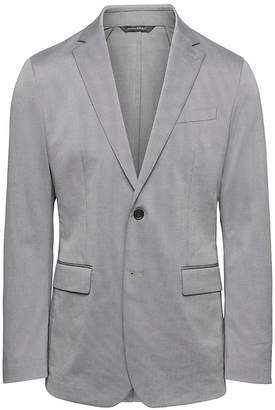 Banana Republic Slim Stretch Cotton Blazer