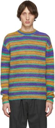Acne Studios Multicolor Striped Alpaca Sweater