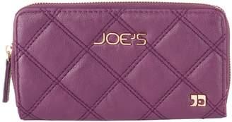 Joe's Jeans Diamond Quilted Zip Around Wallet