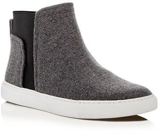 Kenneth Cole Ken High Top Sneakers $130 thestylecure.com