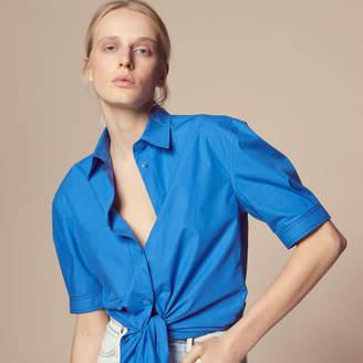 Sandro Cotton shirt with slit