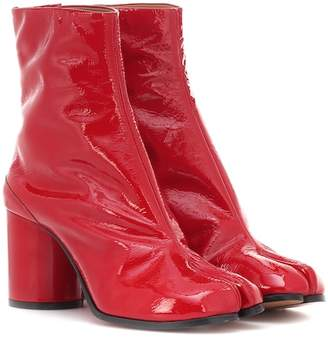 Maison Margiela Tabi patent leather ankle boots