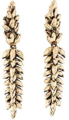Aurelie Bidermann Wheat Drop Earrings