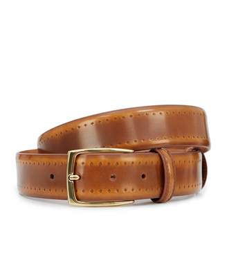 Elliot Rhodes Golden Ochre Hand Polished 35mm Belt Colour: GOLD, Size: