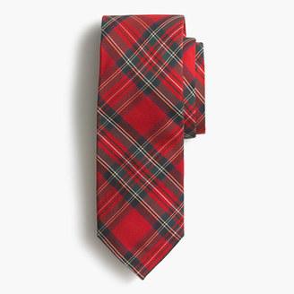 Silk tie in tartan $59.50 thestylecure.com