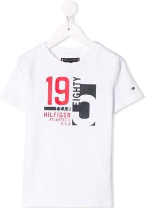Tommy Hilfiger Junior number print T-shirt