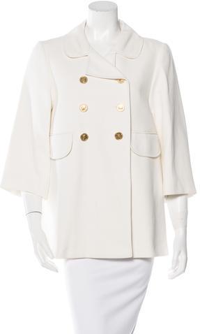 Chloé Chloé Double-Breasted Short Coat